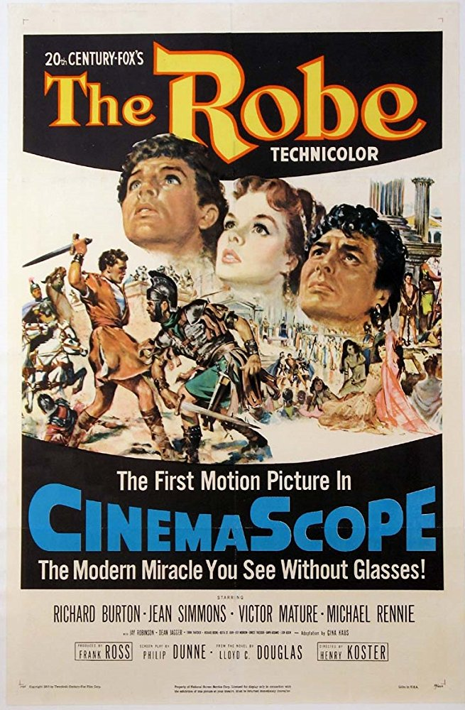 poster The Robe (1953)