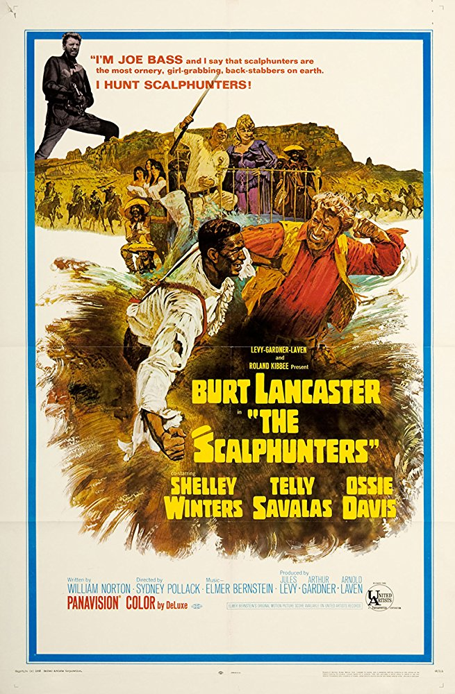 poster The Scalphunters (1968)