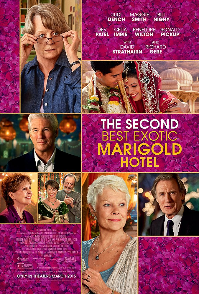 poster The Second Best Exotic Marigold Hotel (2015)