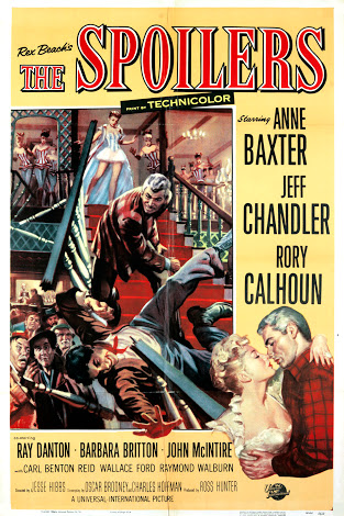 poster The Spoilers (1955)
