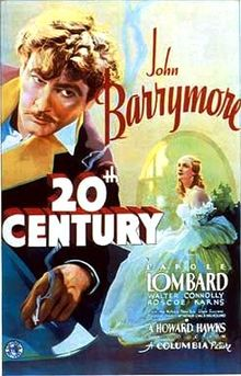 poster Twentieth Century (1934)