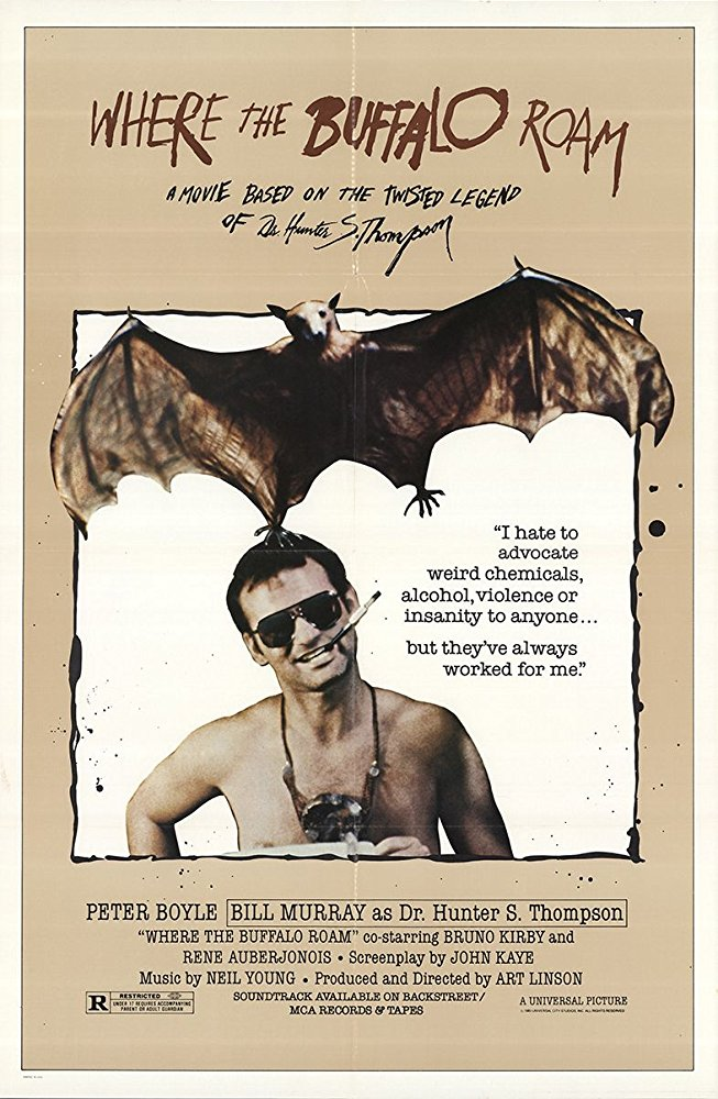 poster Where the Buffalo Roam (1980)