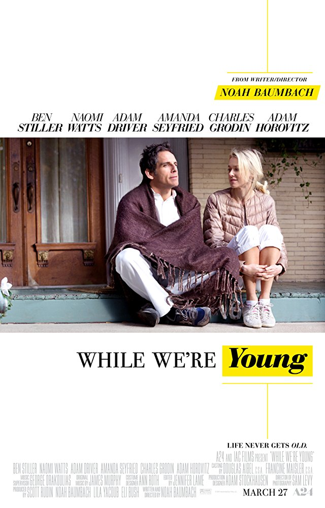 poster While We're Young (2014)