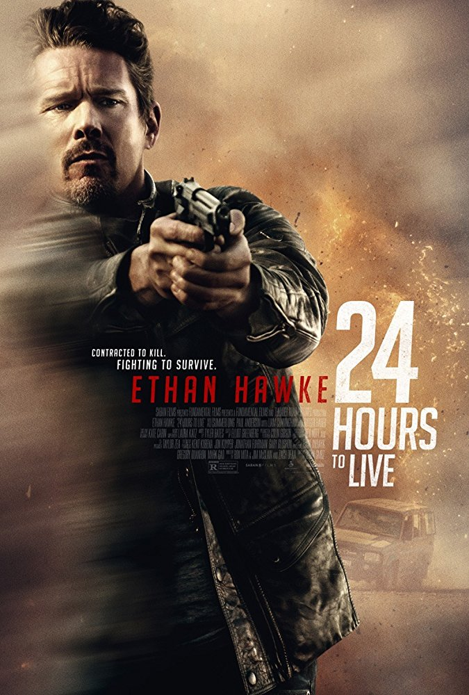 poster 24 Hours to Live (2017)