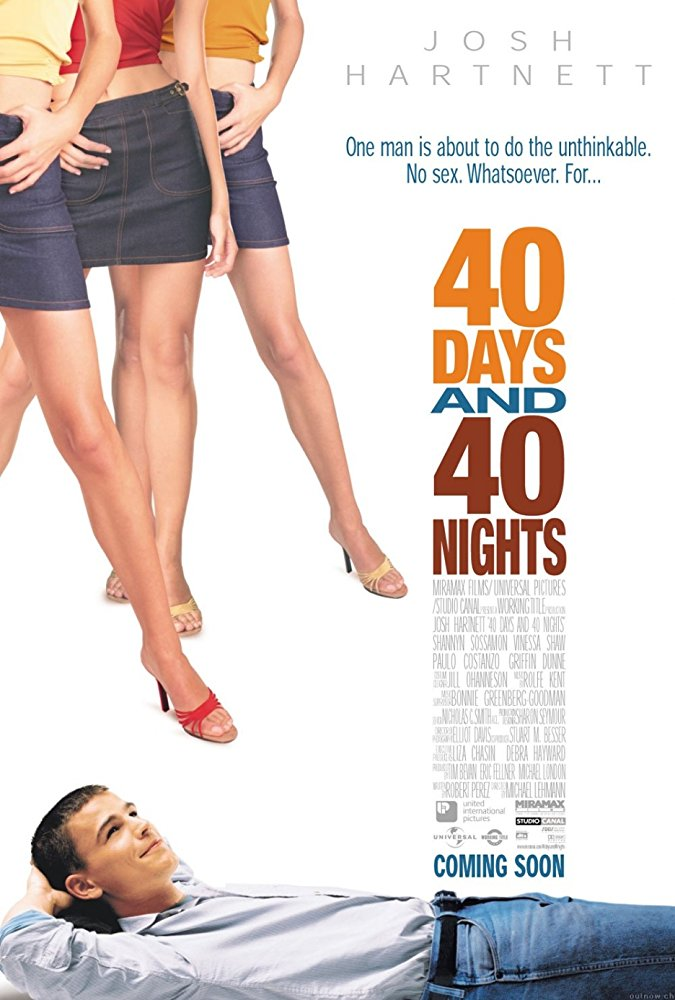 poster 40 Days and 40 Nights (2002)