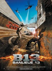poster Banlieue 13 - District B13 (2004)