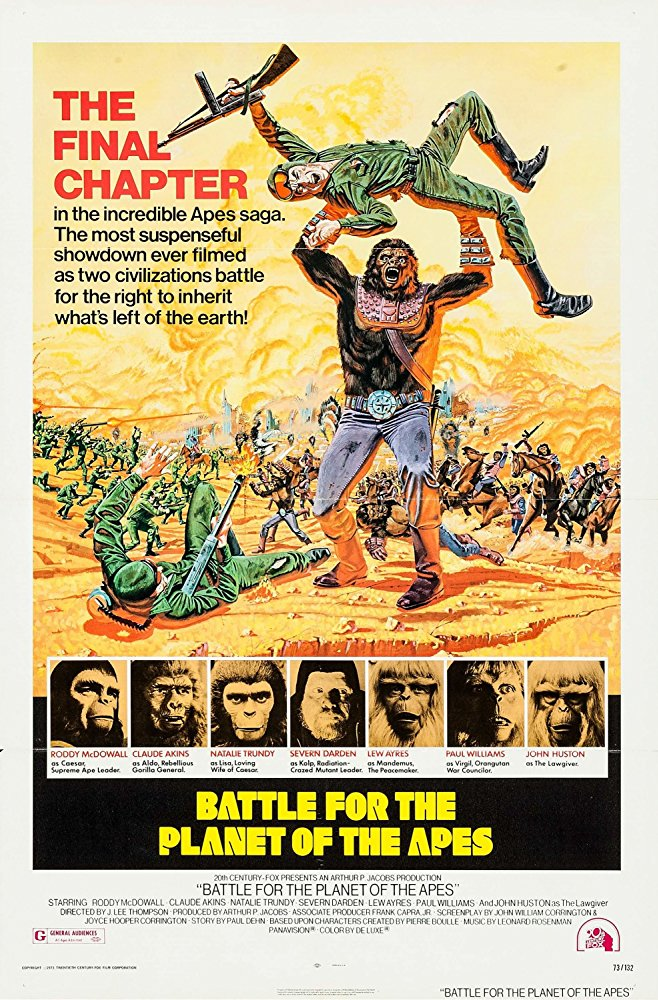 poster Battle for the Planet of the Apes (1973)