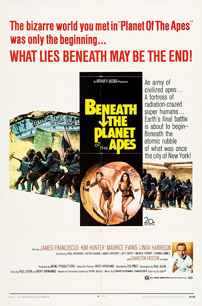 poster Beneath the Planet of the Apes (1970)