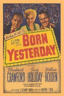 poster Born Yesterday (1950)