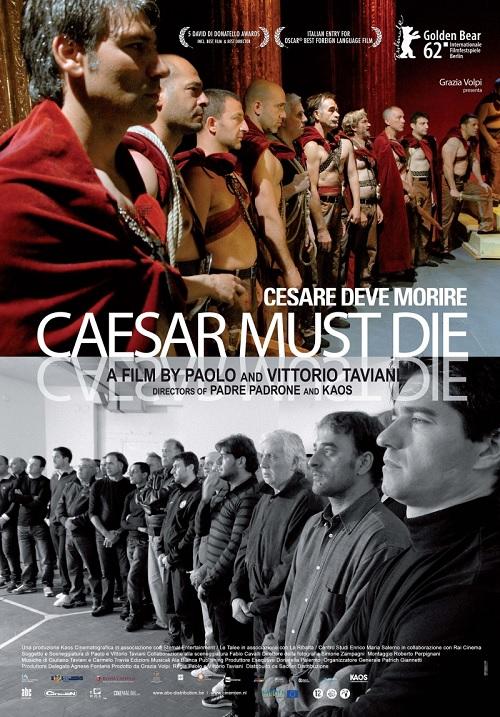 poster Cesare deve morire (2012)