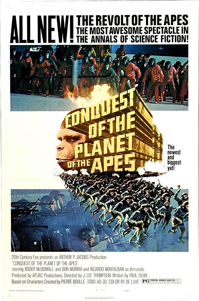 poster Conquest of the Planet of the Apes (1972)