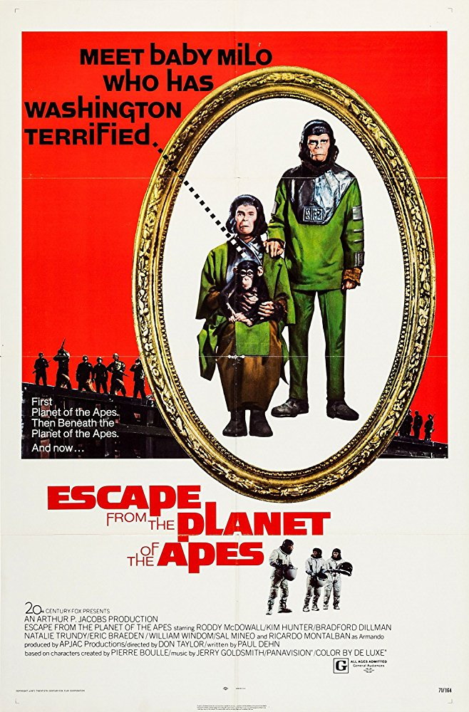 poster Escape from the Planet of the Apes (1971)