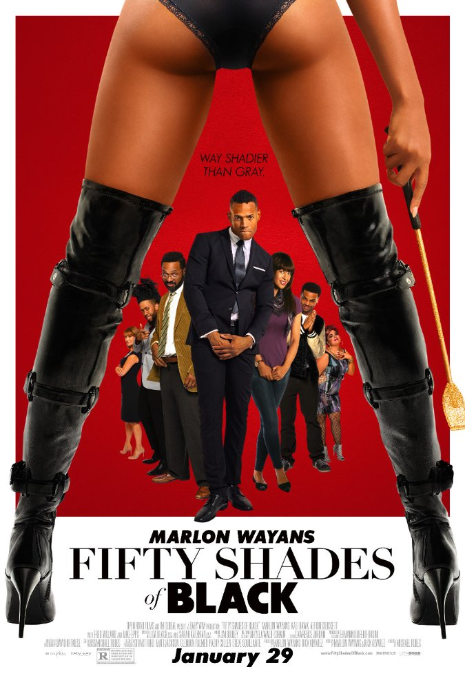 poster Fifty Shades of Black (2016)