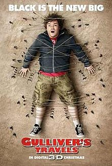 poster Gulliver's Travels (2010)