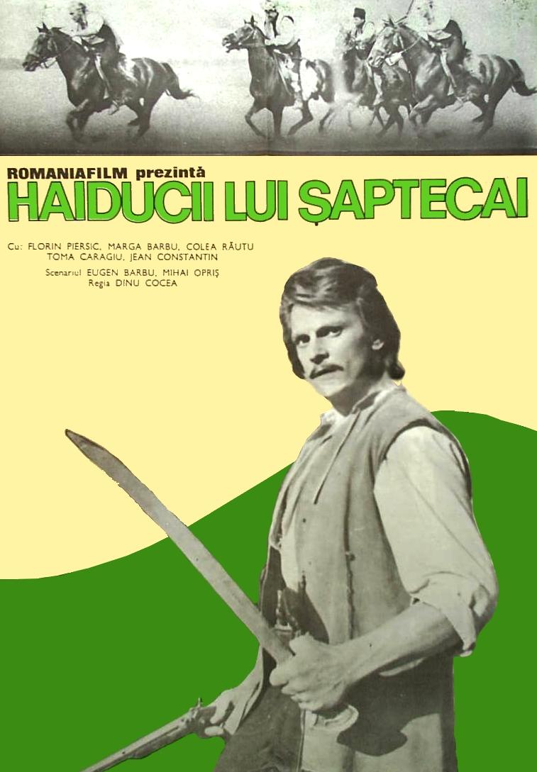 poster Haiducii lui Saptecai (1971)