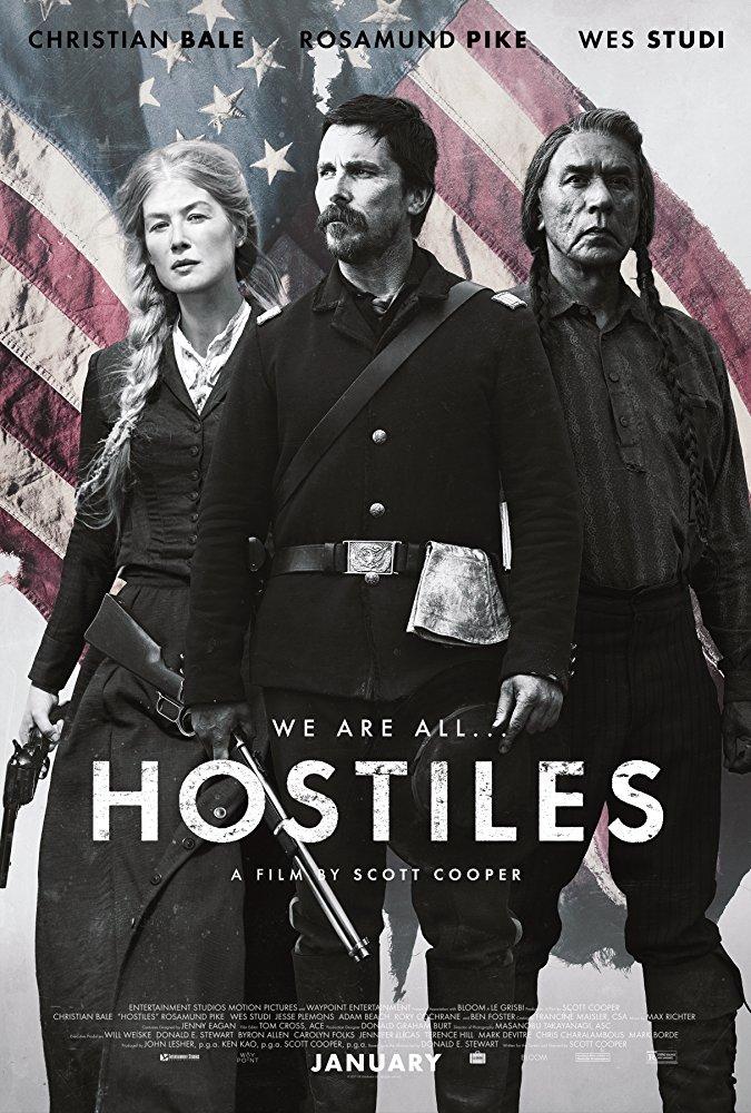 poster Hostiles (2017)