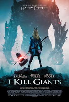 poster I Kill Giants (2017)