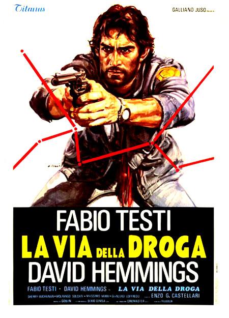poster La via della droga (1977)