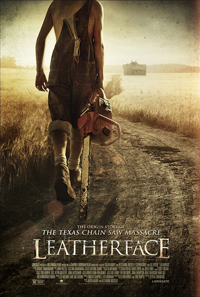 poster Leatherface (2017)