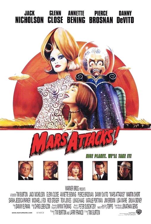poster Mars Attacks! (1996)