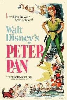 poster Peter Pan (1953)