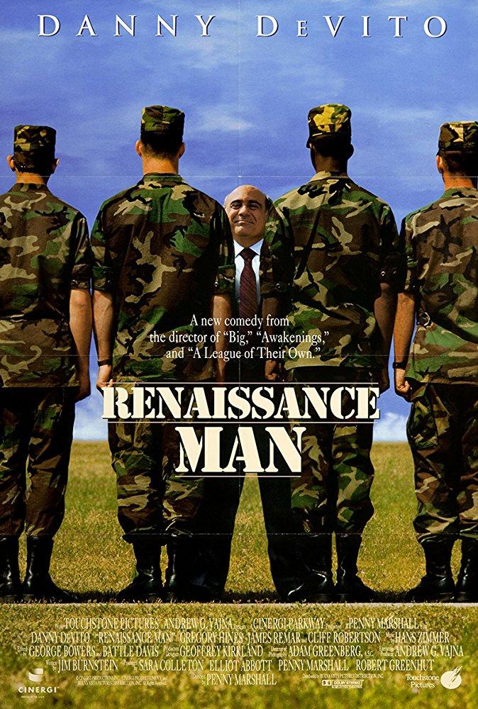 poster Renaissance Man (1994)