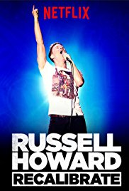 poster Russell Howard Recalibrate (2017)