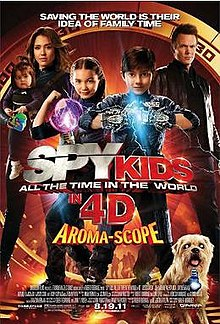 poster Spy Kids All the Time in the World in 4D (2011)