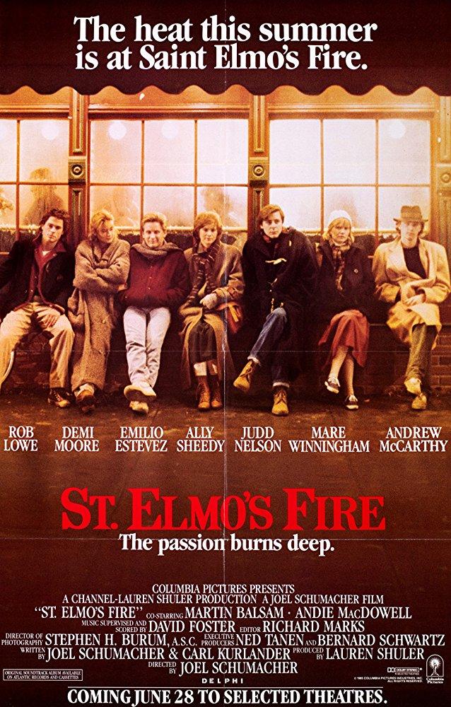 poster St. Elmo's Fire (1985)