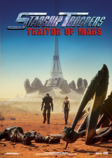 poster Starship Troopers Traitor of Mars (2017)