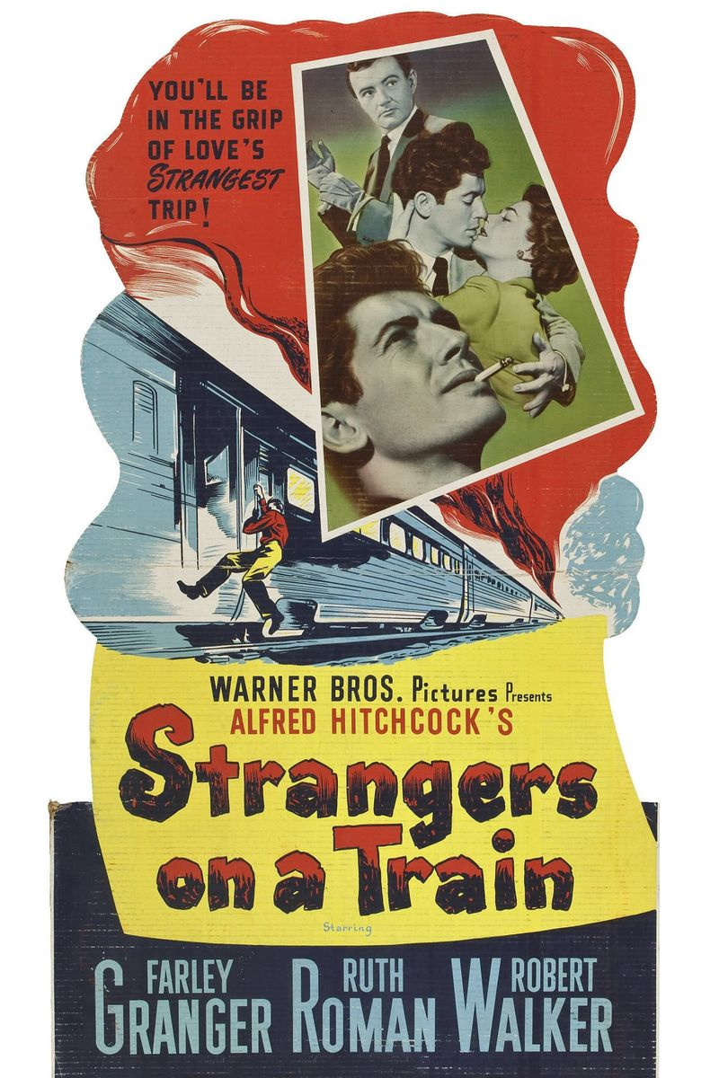 poster Strangers on a Train (1951)