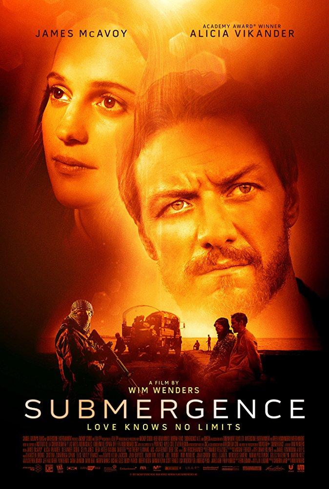poster Submergence (2017)
