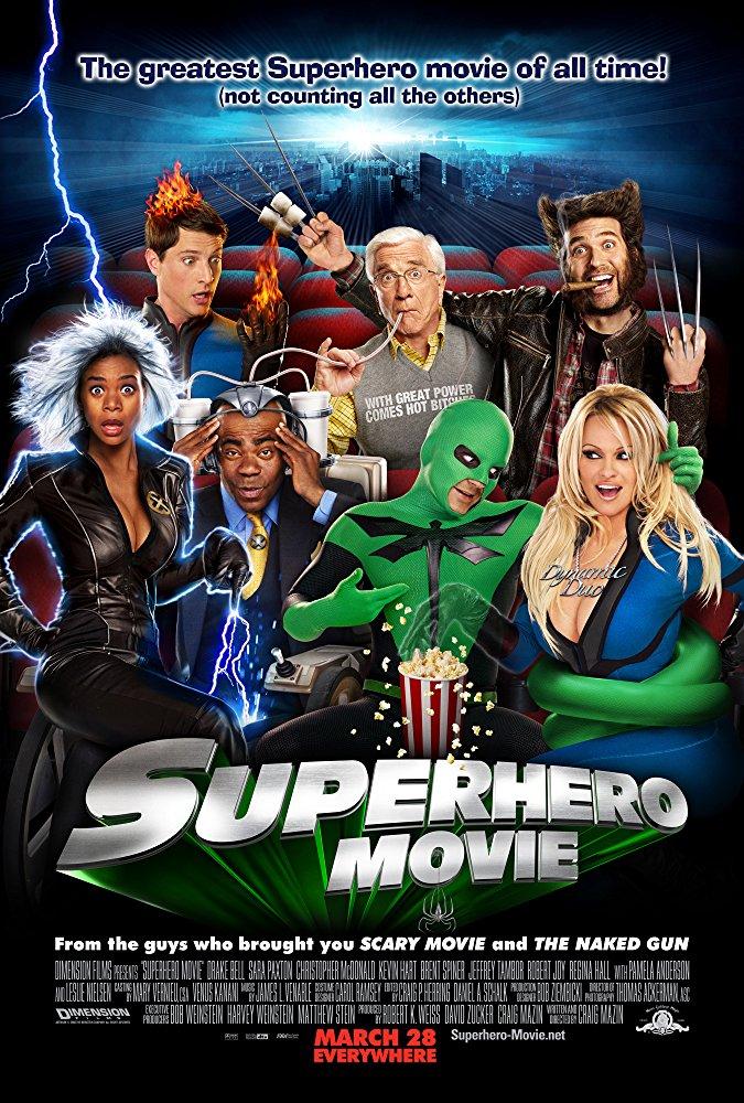 poster Superhero Movie (2008)