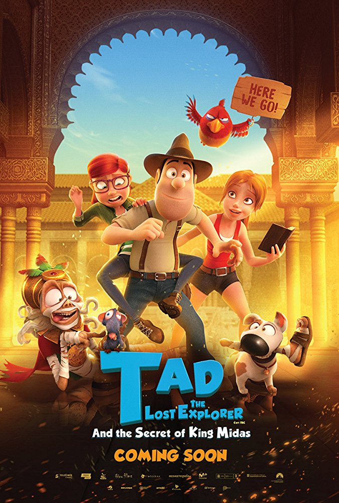 poster Tad the Lost Explorer and the Secret of King Midas (2017)