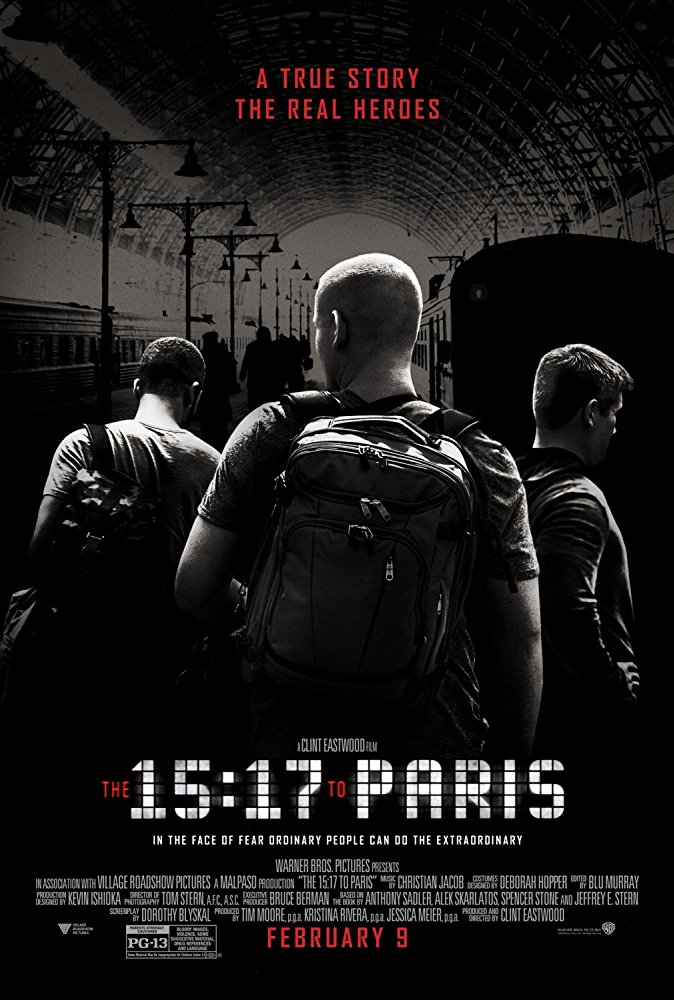 poster The 15-17 to Paris (2018)