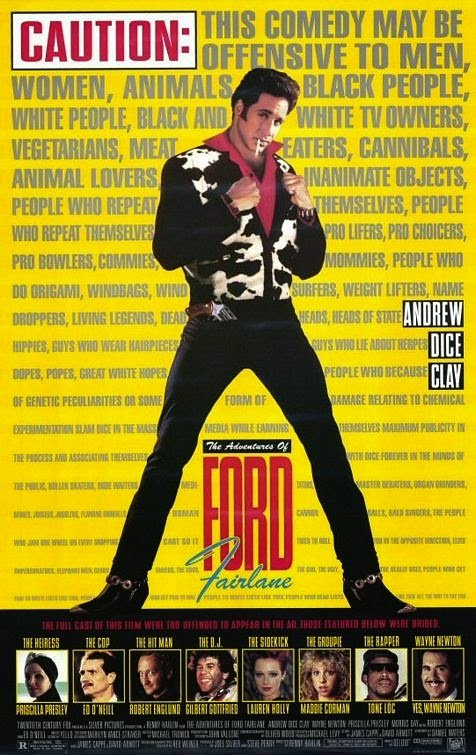 poster The Adventures of Ford Fairlane (1990)