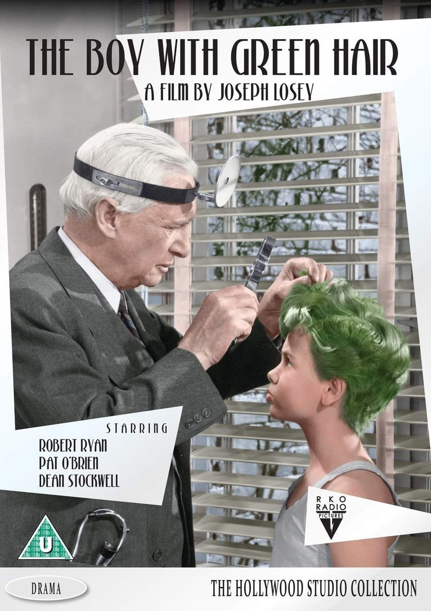 poster The Boy with Green Hair (1948)
