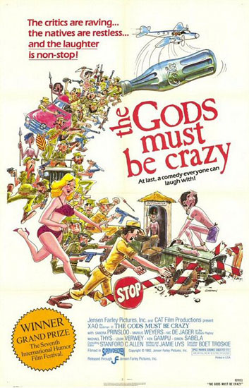 poster The Gods Must Be Crazy (1980)