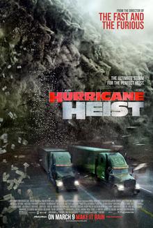 poster The Hurricane Heist (2018)