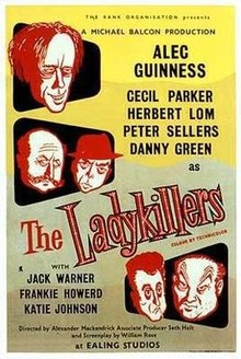 poster The Ladykillers (1955)