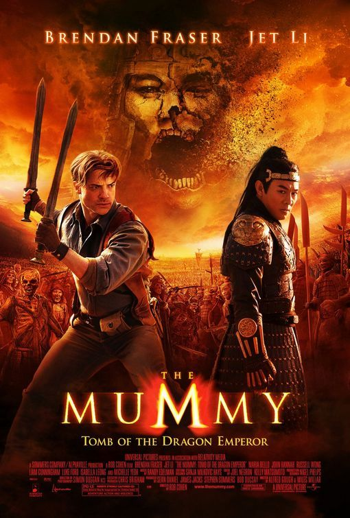 poster The Mummy Tomb of the Dragon Emperor (2008)