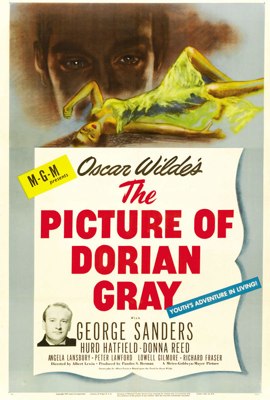 poster The Picture of Dorian Gray (1945)