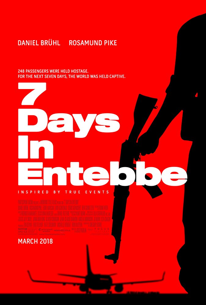 poster 7 Days in Entebbe (2018)