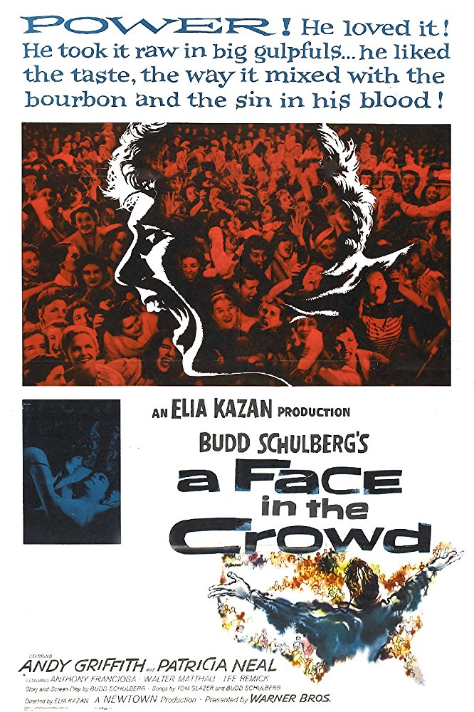 poster A Face in the Crowd (1957)