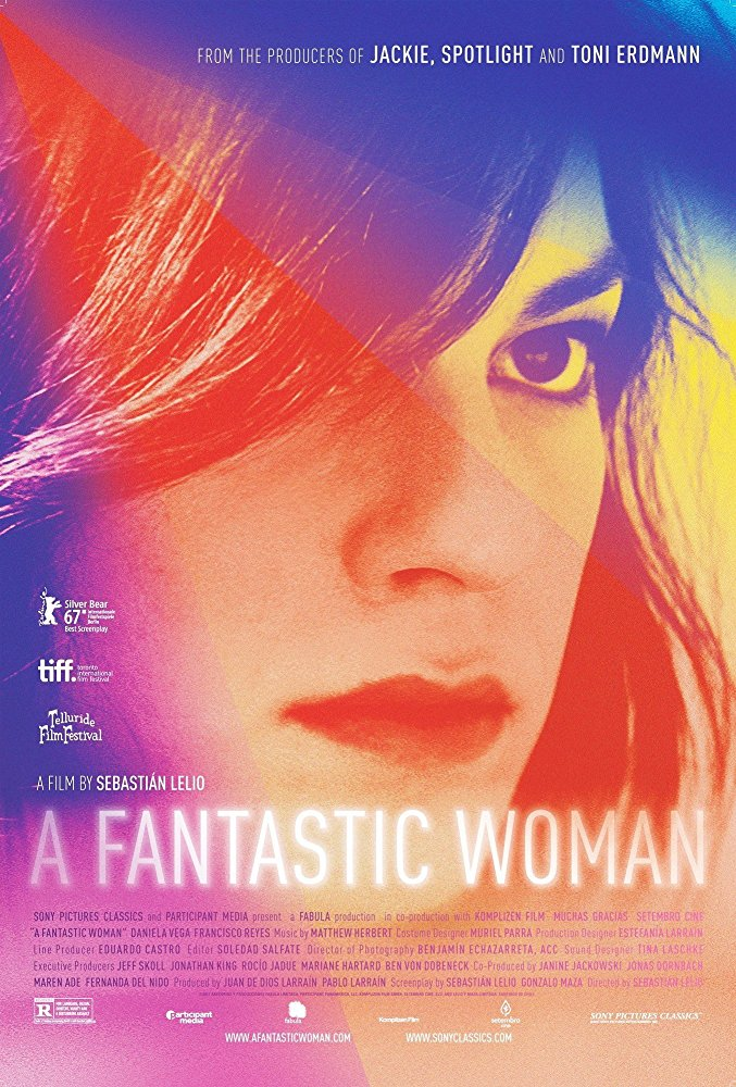 poster A Fantastic Woman (2017)