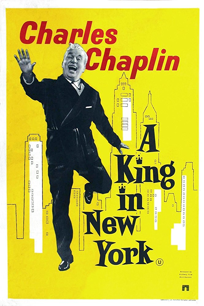poster A King in New York (1957)