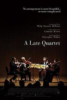 poster A Late Quartet (2012)