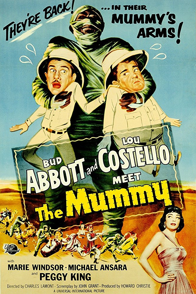 poster Abbott and Costello Meet the Mummy (1955)