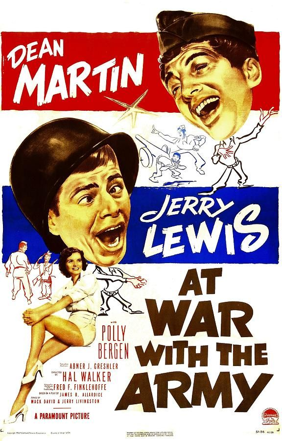 poster At War with the Army (1950)