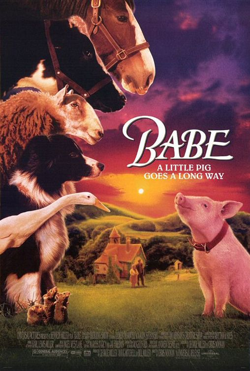 poster Babe (1995)
